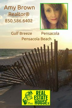 I would love to help you with all of your real estate needs! Contact me today! Gulf Breeze, Amy Brown, Pensacola Beach, Real Estate, City, Beautiful, Real Estates, Cities