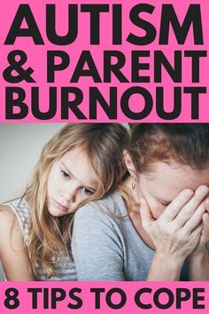 Autism and parenting: 8 Tips to Cope with Caregiver Fatigue | If you're the parent of a special needs child and you want to find ways to cope with mom burnout, we're sharing 8 simple tips you can start implementing today to teach you how to be happier. Whether you're a stay-at-home or working mom, these ideas will help you deal with parental fatigue so you can find the joy in motherhood again! #parenting #parentingtips #parenting101 #autism #specialneeds #SPD #sensoryprocessingdisorder