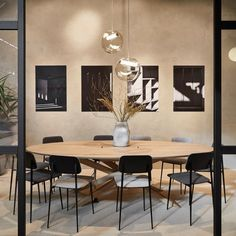 The Mikado Meeting Table by Ethnicraft is an elegant office solution, offering the beautiful and modern design of the Mikado Oval Table with the functionality of any conference table with hidden wire management. Solid Wood Dining Table, Modern Dining Table, Wooden Tables, Dining Area, Dining Room, Modern Furniture, Home Furniture, Furniture Design, Office Furniture