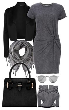 """""""Paris Fashion Week"""" by alwaysinvogue ❤ liked on Polyvore featuring Love Quotes Scarves, Audrey 3+1 and Prada"""