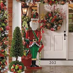 christmas porches pictures - Google Search