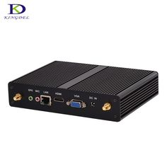 Free Shipping Celeron J1900 Fanless Plam PC Intel HD Graphics HDMI VGA 4*USB3.0 Wind 7 MAX 2.42GHz Mini Computer Wifi for free