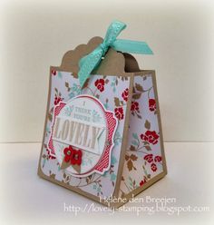 Tutorial giftbag