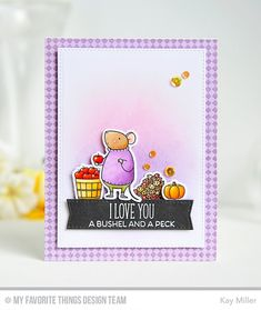 Harvest Mouse Stamp Set from My Favorite Things