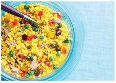 ...Il mondo di Elena...: Insalata di riso Arcobaleno