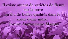 Anniversaire Carte De Vœux Pour un Spécial Mère JOYEUX ANNIVERSAIRE..