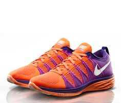 Run Faster With These New Sneaks! Fast. Very Fast.    Go ahead, take a second to drool over this looker. It's the Nike Flyknit Lunar2, $160, a lighter and stronger version of its predecessor, the Lunar1. It pairs the powerful and ultra- light Flyknit upper with the super-soft and responsive Lunarlon cushioning. That means you can keep your quick pace up for longer. And if you think you can create a more swoon-worthy colorway, you can customize them at NIKEiD. #SelfMagazine