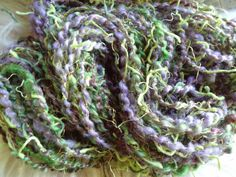 Handspun Funky Art Yarn Grape Vine 325 ounces 40 by ladypainswick, $24.00  new design now in my shop