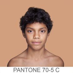 humanæ-people photographed against pantone color