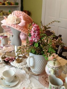 6 year old birthday party tea party theme 70th Birthday Ideas For Mom, 70th Birthday Parties, Mom Birthday, Tea Party Theme, Party Themes, Tea Time, Mary, Entertaining, Table Decorations