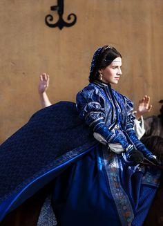 Bianca Gonzaga - Melia Kreiling in The Borgias, set between 1492 and 1500 (TV series 2011-2013).