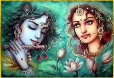 krishna radha romantic images - Google Search