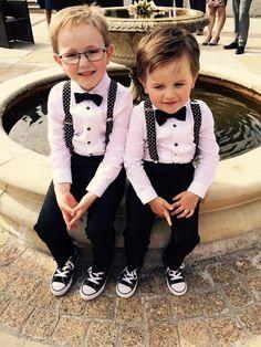 #Gwendolynne patience #Wedding #tuxedo #pageboys #bellingham castle #converse #juliecumminsphotography #clairebaker