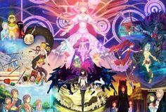All of Puella Magi Madoka Magica in one picture.