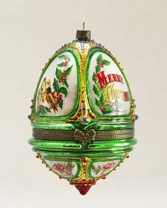 Musical Egg Blown Glass Ornament | Balsam Hill