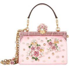 f1bece1b6b7a Dolce  amp  Gabbana Satin Rose Embellished Top Handle Bag (106 850 UAH) ❤