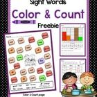 A great activity for integrating language arts and math.  Students color and count the sight words and then graph or tally the results.  Concepts c...