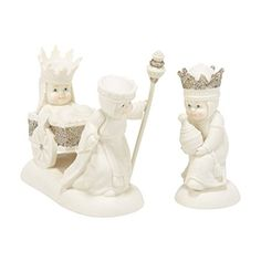 Snowbabies Department 56 Dream Collection We Three Kings Figurine 276Inch Set of 2 ** Click image for more details.