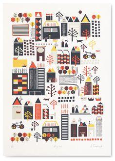 FANCY! Design Blog | NZ Design Blog | Awesome Design, from NZ & The World: Limited Edish Citta Prints