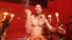 dwayne johnson dancing samoan - YouTube
