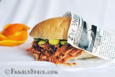 Orange Barbecue Pulled Pork