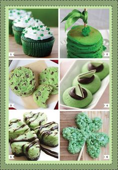 "St. Patrick's Day ""Green"" treats plus Pinch Proof Buttons for all (Freebies)"
