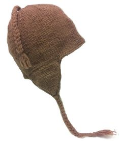 e714467c8b9d2 Amazon.com   Nepal Hand Knit Sherpa Hat with Ear Flaps