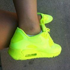 35d74fd7ecc Neon Air Max.. love it! Neon Sneakers
