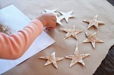 gold stars- because we need some gold stars in our windows :)