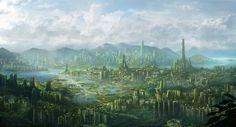 Cyberpunk and post-apocalyptic art of Jonas De Ro