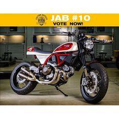 "���� JAB #10! Ducati Scrambler ""Ottanta"" by @phmotorcycles ����..."
