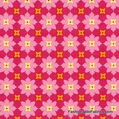 Fabric... Andalucia Tiny Flower in Fuchsia by Patty Young