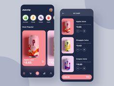 Juiceup App Apps News Around The Web Juiceup App Juiceup App Design-Konzept . Game Design, Interaktives Design, Design Logo, App Ui Design, User Interface Design, Best App Design, Interface App, Mobile App Design, Android App Design