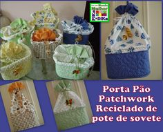 Saco de pão sorvete Reuse Recycle, Upcycle, Recycling, Crafts To Do, Home Crafts, Ice Cream Containers, Trash To Treasure, Recycle Plastic Bottles, School Supplies