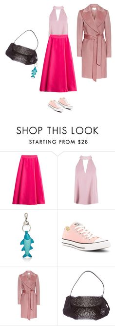 """Untitled #4232"" by ayse-sedetmen ❤ liked on Polyvore featuring Alberta Ferretti, Boohoo, Barneys New York and Converse"