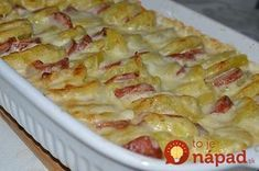 Kassler – Kartoffel – Gratin - New Site Pork Recipes, Asian Recipes, Cooking Recipes, Ethnic Recipes, Good Food, Yummy Food, Sauce Tomate, Bratwurst, Daily Meals