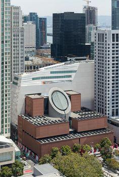 Kräuselnde Fassade - Museum von Snøhetta in San Francisco