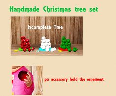 【Objects & Accessory】Ninyo Handmade Christmas Tree Set [Find>Kids>Toy Or Plants]