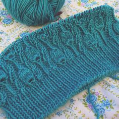 Before I break into all the lovely new yarn, I have some knits to finish. Hoping to bind off this one tonight!
