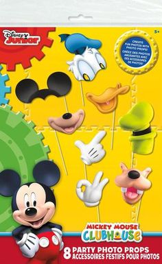 Fill your clubhouse with Mickey and the gang with these Disney Mickey Mouse…