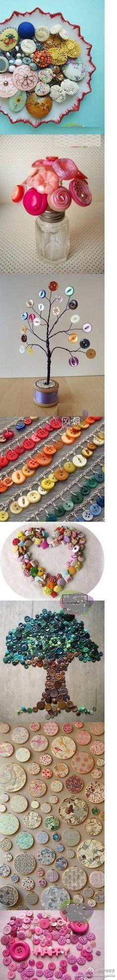 buttons craft by irene sabine wilhelmsen