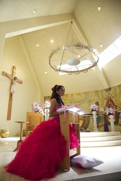 Up close side view Quinceanera photo idea Photo Credit: WR Photography #Quinceanera