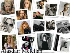 Alasdair Mclellan es un fotógrafo con sede en Londres, que empezó a ser conocido por sus fotografías sorprendentes de los hombres jóvenes. Desde entonces, McLellan ha convertido en uno de los principales actores de la industria, fotografiando las campañas para las casas de moda famosas como Louis Vuitton y editoriales para publicaciones como Vogue, Arena Homme, el amor, y las revistas ID.