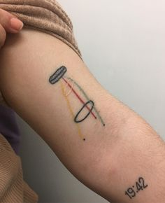 Javier Mariscal chair tattoo