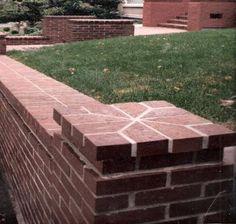 brick column cap detail