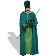 Wizard Of Oz Emerald City Guard Halloween Costume