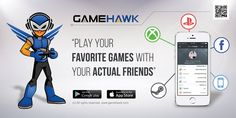 """GameHawk Mobile App - @GameHawkTheApp - #GameHawkTheApp - http://gamehawk.com/ - GameHawk is a mobile first app, designed specifically to take advantage of a mobile devices capabilities, which will allow gamers to connect with their actual gamer friends - E3 2014 - Day 1 - #E3 - @E3 - http://www.e3expo.com/ - FuTurXTV, www.hhbmedia.com & Funk Gumbo Radio: http://www.live365.com/stations/sirhobson and """"Like"""" us at: https://www.facebook.com/FUNKGUMBORADIO"""