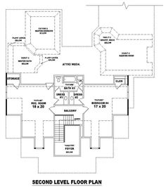 #653618 - 1 Story Traditional Home with Optional 2nd Floor : House Plans, Floor Plans, Home Plans, Plan It at HousePlanIt.com
