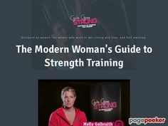 The Modern Woman's Guide to Strength Training - Girls Gone Strong