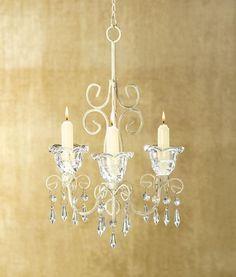 10 Candle Chandeliers Vintage Shabby Chic Wedding Decor - Affordable Elegance Bridal -